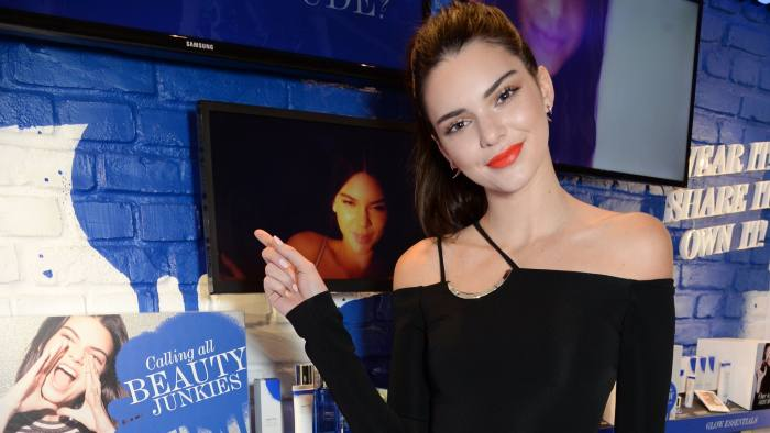 Social media and reality TV star Kendall Jenner launches Estée Edit at Selfridges in London: the company is targeting millennials with the brand
