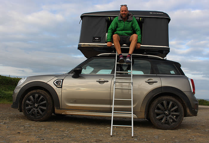 Living The Vanlife Dream In A Mini With A Rooftop Tent
