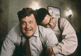 John Goodman in Barton Fink (1991) with John Turturro