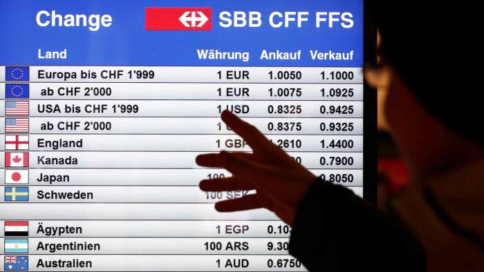 Forex brokers after swiss franc to euro week 17 betting previews