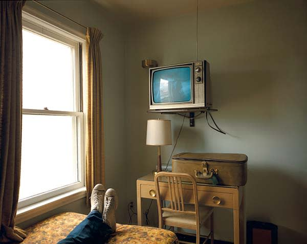 Room 125 Westbank Motel Idaho Falls Idaho 18 July 1973 From the Uncommon Places series by Stephen Shore