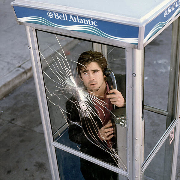 Colin Farrell is held hostage by a sniper in 'Phone Booth' (2002)