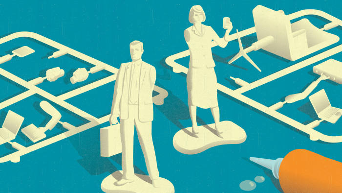 cover for Masters in Management rankings September 2013. Illustration by Neil Webb