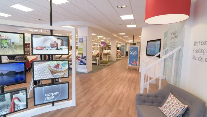 Carpetright rolls out upmarket strategy on back of strong sales