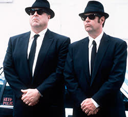 John Goodman in 'Blues Brothers' (2000), with Dan Aykroyd