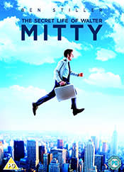 The Secret Life of Walter Mitty - DVD cover