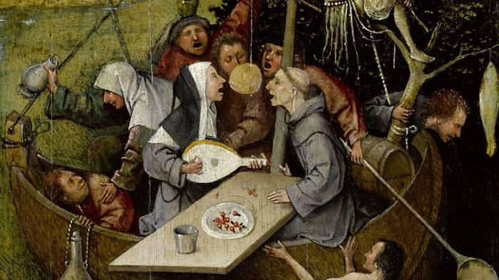 Hieronymus Bosch, The Ship of Fools, ca. 1500-10