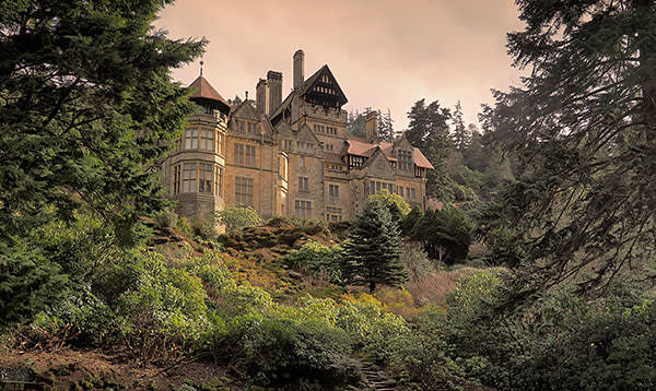 Cragside house in Northumberland by Richard Norman Shaw