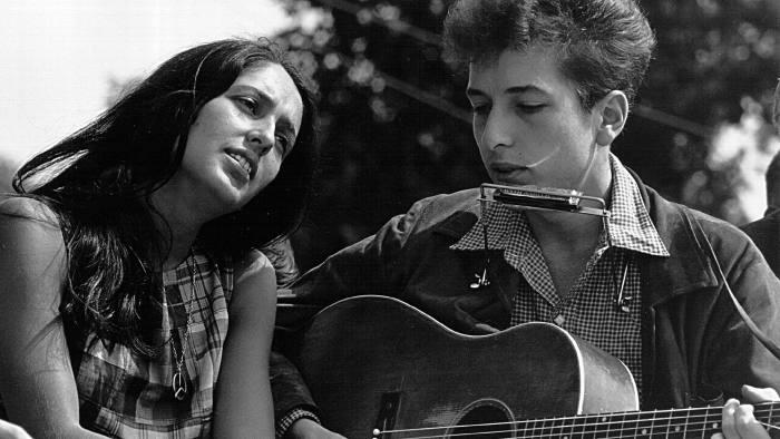 Joan Baez and Bob Dylan, 1963