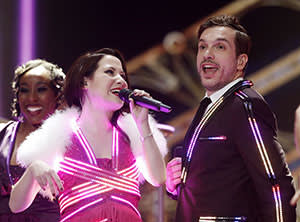 Not quite nul: UK duo Electric Velvet garnered just five votes at Eurovision 2015