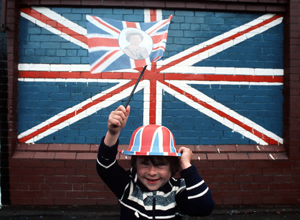 The Queen's silver jubilee meant 1977 was awash with Union Jack bunting