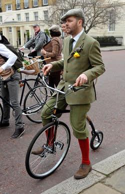 The London Tweed Run 2013