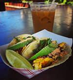 Tacoway Beach's famous fish tacos