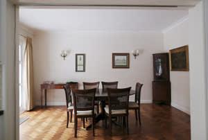 Derek Brewer's dining room