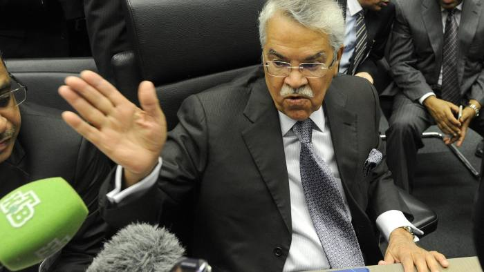 Ali al-Naimi, Saudi oil minister, at the Opec meeting this week