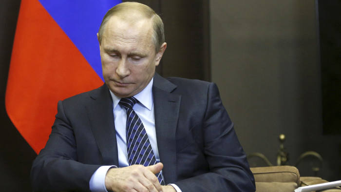 "ATTENTION EDITORS - REUTERS PICTURE HIGHLIGHTRussian President Vladimir Putin attends a meeting with Jordan's King Abdullah at the Bocharov Ruchei state residence in Sochi, Russia November 24, 2015. Speaking before a meeting with Jordan's King Abdullah, Putin called Turkey's downing of a Russian fighter jet ""a stab in the back"" carried out by the accomplices of terrorists, saying the incident would have serious consequences for Moscow's relations with Ankara. REUTERS/Maxim Shipenkov/Pool TPX IMAGES OF THE DAYREUTERS NEWS PICTURES HAS NOW MADE IT EASIER TO FIND THE BEST PHOTOS FROM THE MOST IMPORTANT STORIES AND TOP STANDALONES EACH DAY. Search for ""TPX"" in the IPTC Supplemental Category field or ""IMAGES OF THE DAY"" in the Caption field and you will find a selection of 80-100 of our daily Top Pictures.REUTERS NEWS PICTURES. TEMPLATE OUT"
