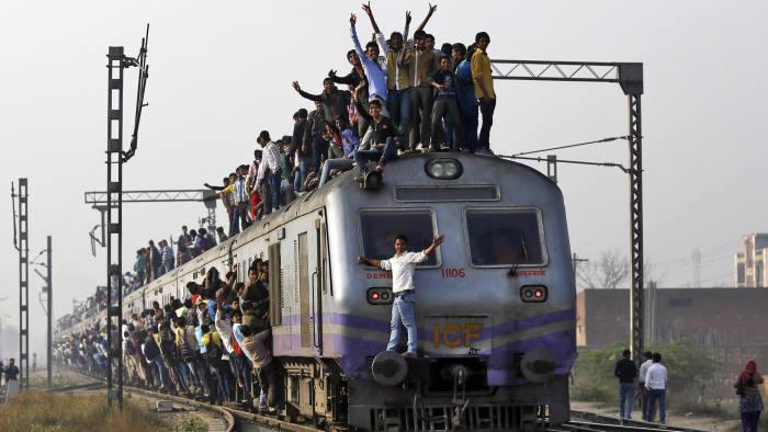 Risultati immagini per india train