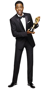 This year's Oscars host Chris Rock