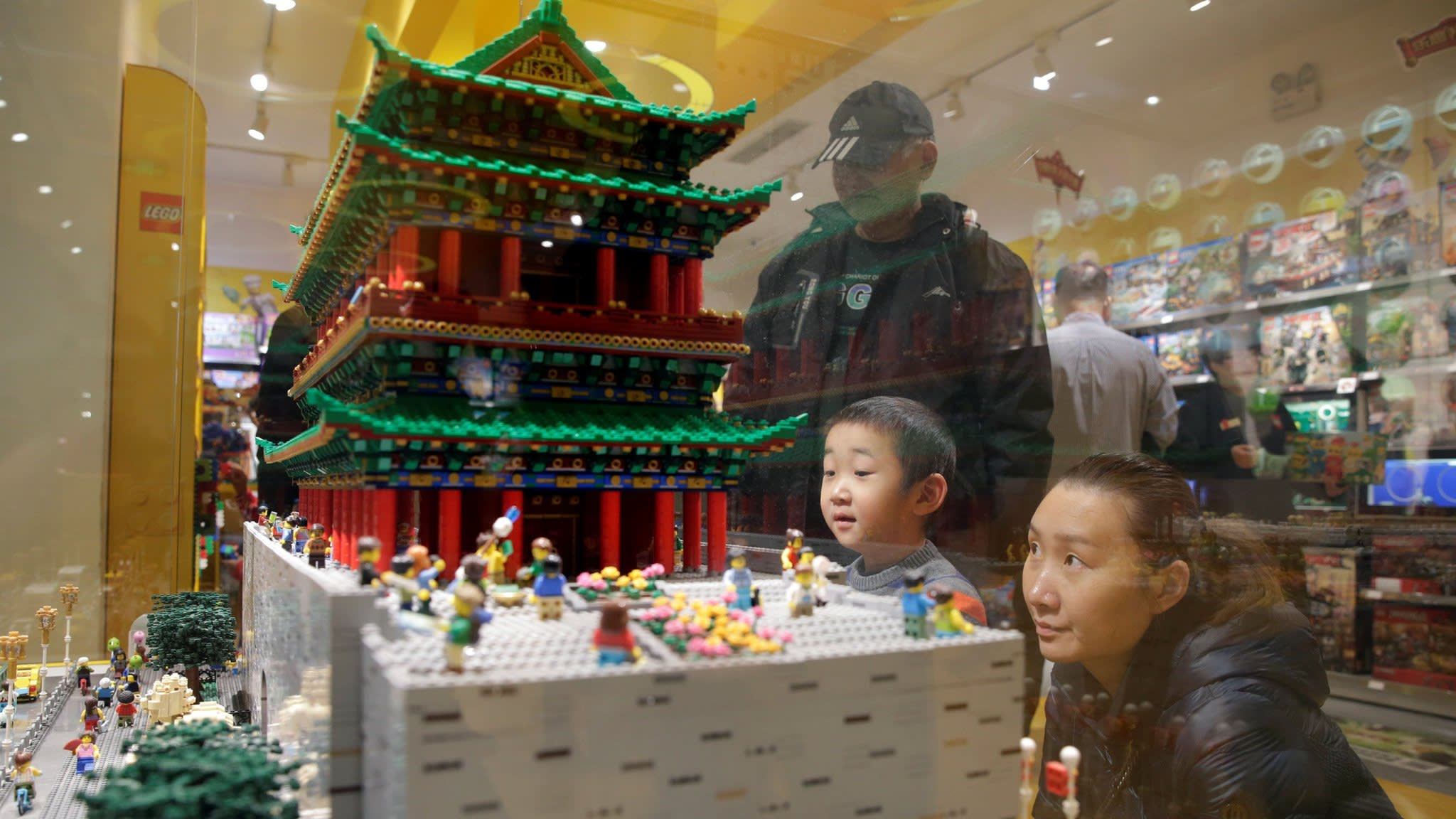 Lego and Tencent team up for China digital partnership | Financial Times