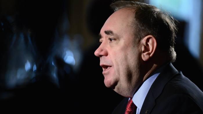 Alex Salmond Addresses Business Leaders On Referendum Plans