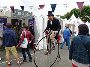A Anjou Vélo Vintage participant