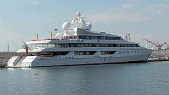 The Indian Empress superyacht