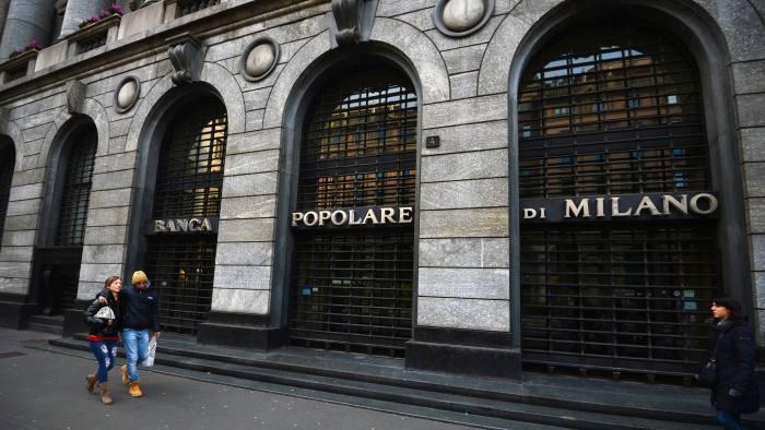 Banca Popolare Di Milano And Banco Popolare Agree Merger Deal