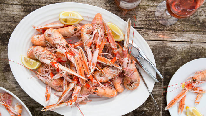 Rowley Leigh's langoustines