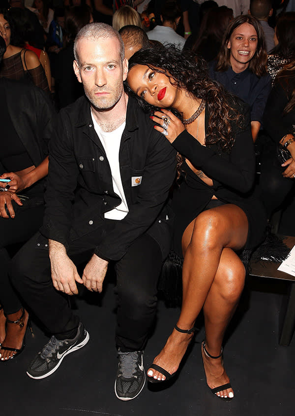 Mel Ottenberg (@melzy917) with Rihanna (@badgalriri)