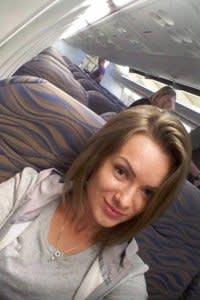 Anna Sergeeva's final selfie