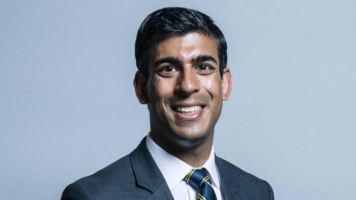 Rishi Sunak - UK Parliament official portraits 2017
