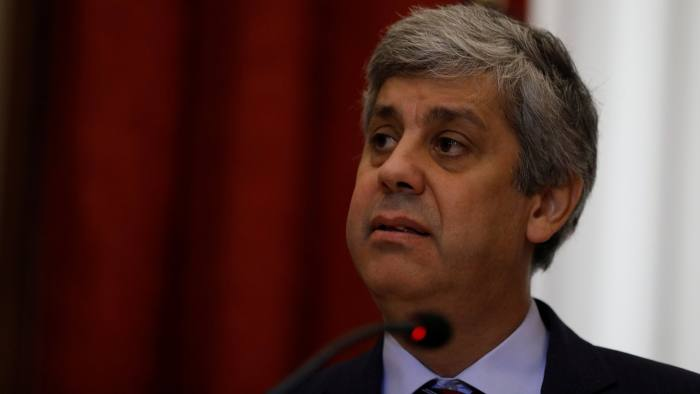 Portugal's Finance Minister Mario Centeno