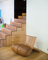 Wood Chair, one of Newson's designs