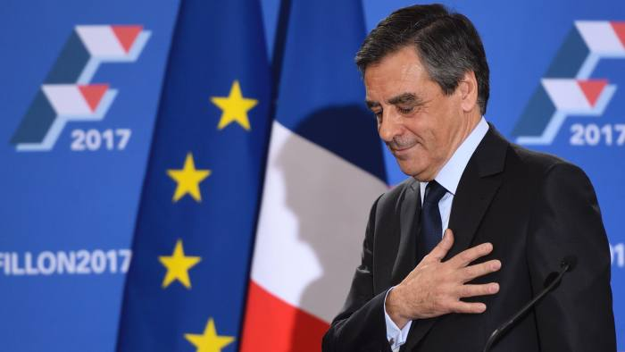 François Fillon of the conservative Republicans is currently the favourite to win the French presidential race