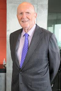 Julian Robertson during the View from the Top interview with FT's Chrystia Freeland on October 13, 2009.
