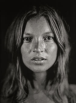 'Kate' (2006) by Chuck Close