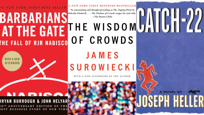 Catch-22' among surprise choices for classic business book