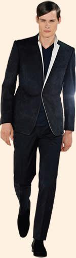 A Kilgour suit designed by Brandelli at Paris Fashion Week 2009
