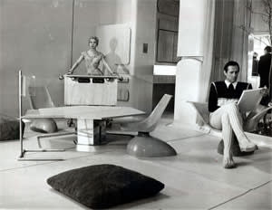 'House of the Future' at the Ideal Home Show in 1956