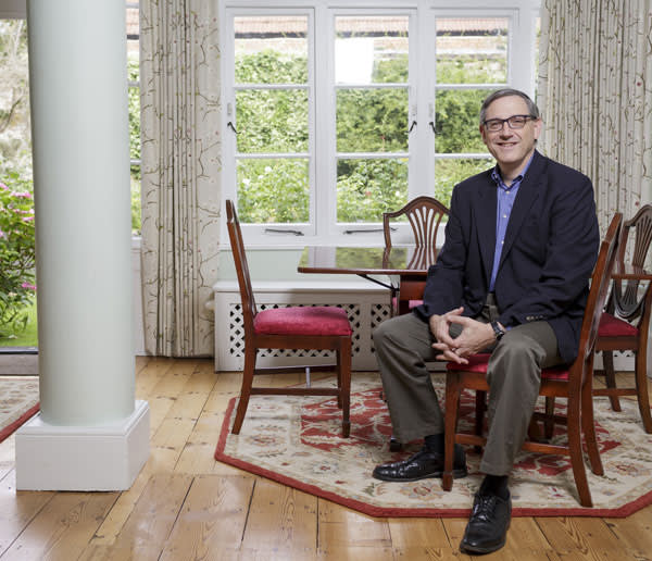 Peter Tufano, dean of the Saïd Business School, at his home in Oxford