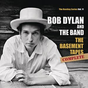 Cover of the 'The Basement Tapes' by Bob Dylan and The Band