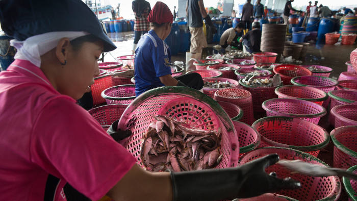 The seafood industry is under scrutiny for suspected slavery