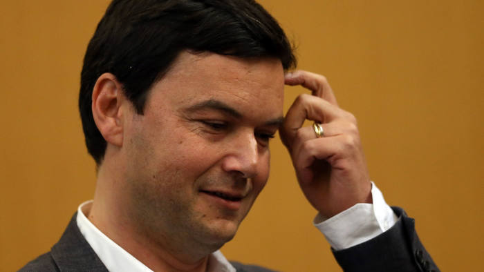 Economist and author Thomas Piketty