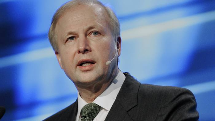 BP Group Chief Executive Bob Dudley speaks at the IHS CERAWEEK energy conference Wednesday, March 6, 2013, in Houston. (AP Photo/Pat Sullivan)