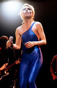 Blondie's Debbie Harry