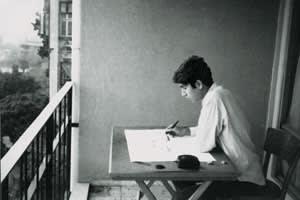 young Orhan Pamuk