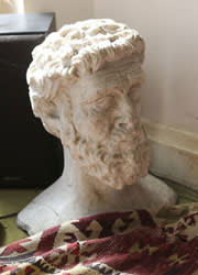 Bust bought in Spain