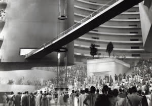 A still from the 1936 film 'Things to Come'