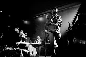 Miles Davis at the Village Vanguard in 1958
