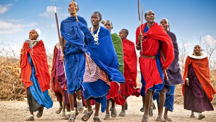 Masai warriors dancing traditional jumps as cultural ceremony. T ID 43324355 © Aleksandar Todorovic | Dreamstime.com TANZANIA, AFRICA-FEBRUARY 9, 2014: Masai warriors dancing traditional jumps as cultural ceremony,review of daily life of local people on February 9, 2014. Tanzania.